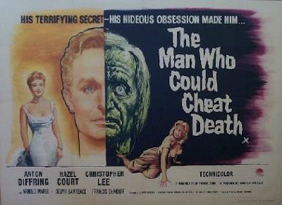 Poster de El Hombre que podía engañar a la muerte 1959