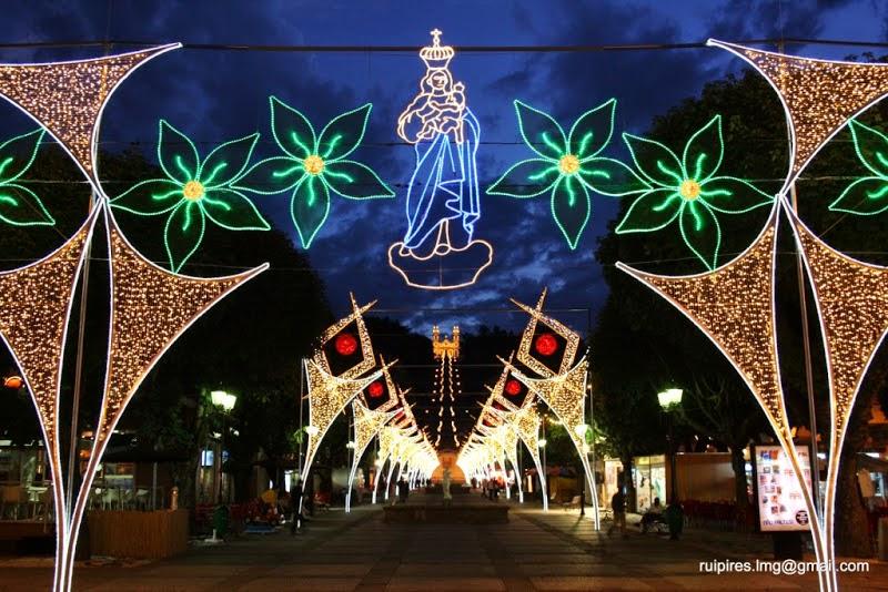 Iluminação Festas Lamego 2010_Av.Dr Alfredo Sousa