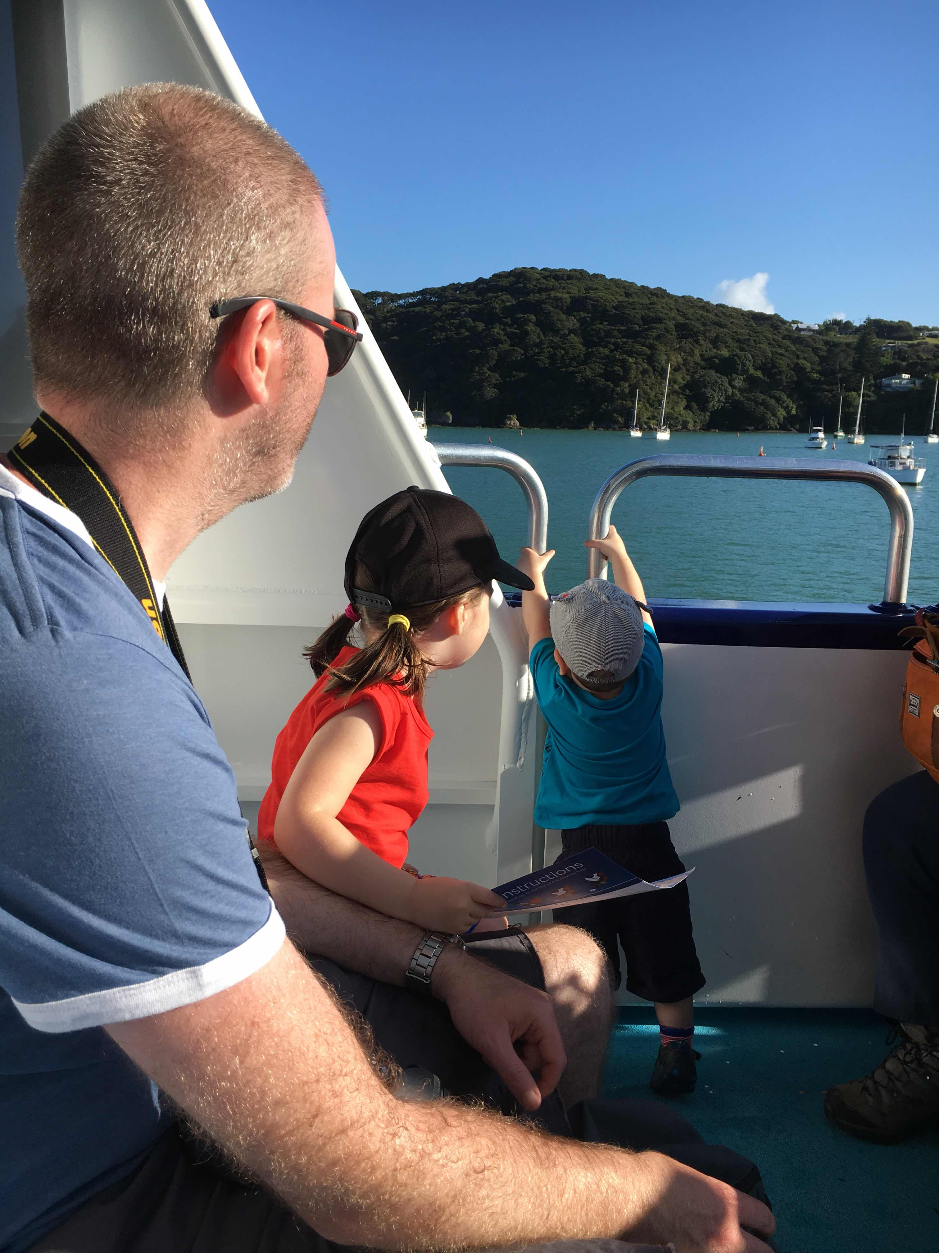 Paihia boat trip