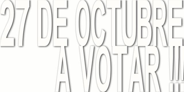 El Poder verdadero de un Pueblo, está en el Voto.