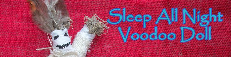 Sleep All Night Voodoo Doll