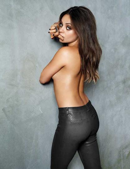 Mila Kunis, desnuda
