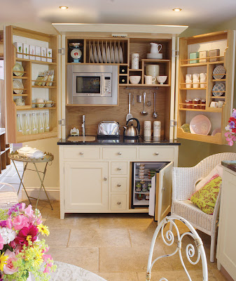 Good This Cupboard Kitchen From Culshaw Bell Looks More Like It Should Contain  Coats And Clothes Than A Culinary Workspace. But Contain It It Does; This  Baby Has ...