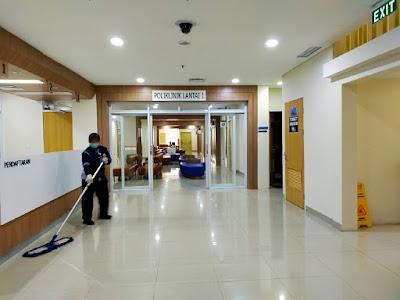 Area poliklinik lt.1 rspp