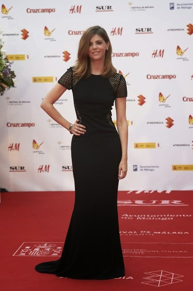 Manuela Velasco attends the 18th Malaga Spanish Film Festival close ceremony