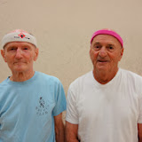 Men 75+ Singles: Doug Lee, Finalist, Paul Segal, Winner