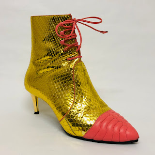 Bally Gold Boots