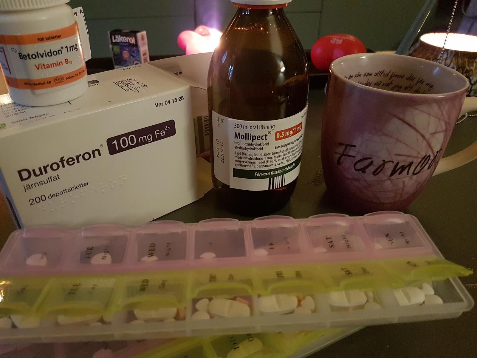 Hosta blod förkylning