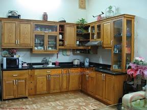 Tủ bếp gỗ tự nhiên BESM0116