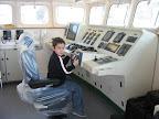 Οδηγώντας το καράβι του μπαμπά του