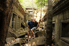 Beng Mealea Temple- our new favourite.. Took 2 1/2 hours in a tuk tuk to get here but it was worth it!