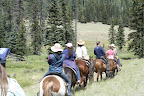 Trail ride, Paseo del Lobo July 13-15 (Photo by D. Sayre)