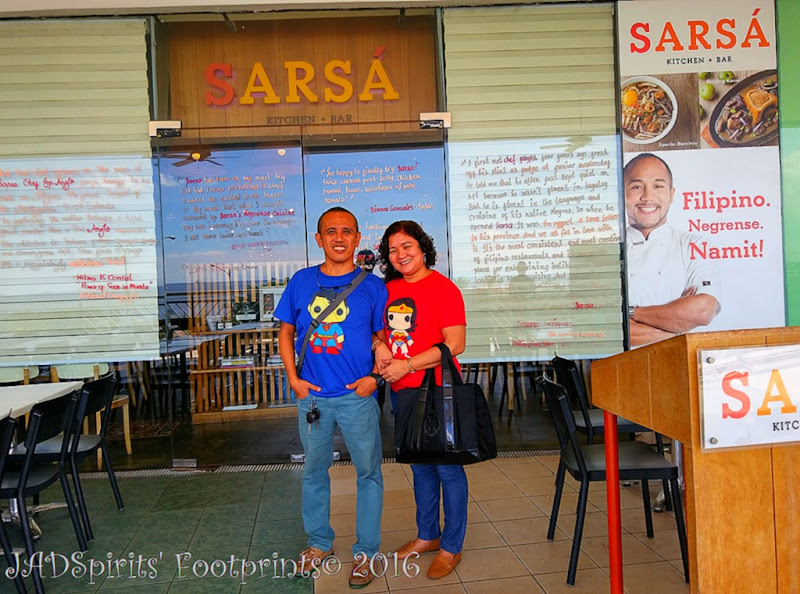 Sarsa Kitchen + Bar by Chef JP Anglo at SM Mall of Asia