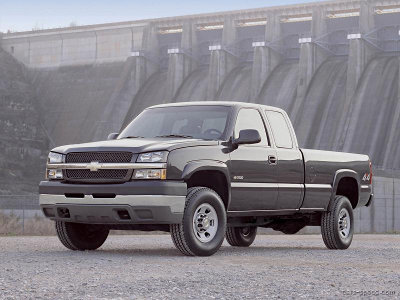 2004 chevy 2500hd service manual