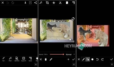 Cara Mengganti Background foto di PictArt Android 2 Cara Mengganti Background Foto di PicsArt
