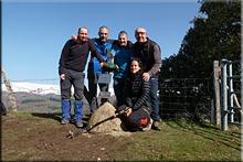 Aldaia mendiaren gailurra 790 m. -- 2016ko otsailaren 21ean