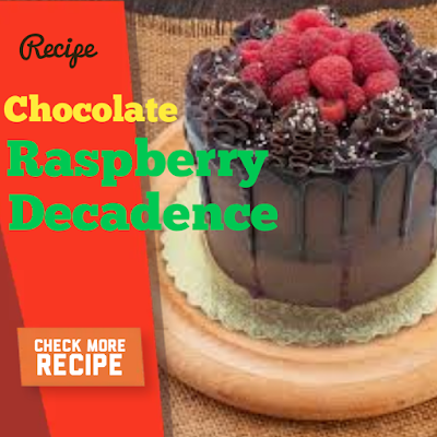 chocolate raspberry decadence and Cottage Cheese Fritters Recipe