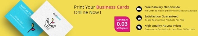 business card murah di KL