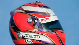 可夢偉ヘルメット2010 サイド