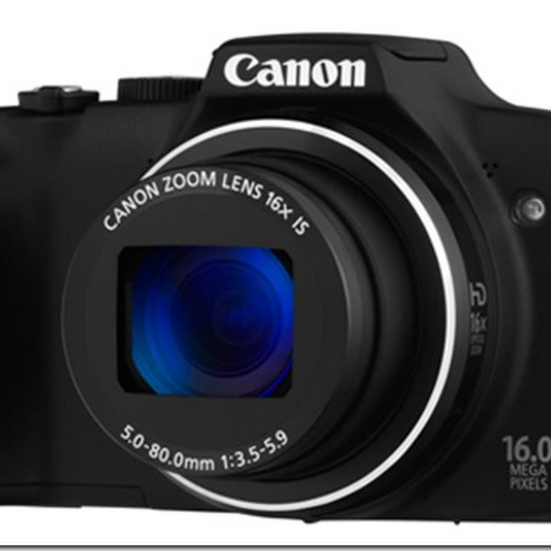 Super Zoom Compact Dengan Canon PowerShot SX170 IS