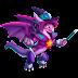 Dragón Hechicera   Magicienne Dragon
