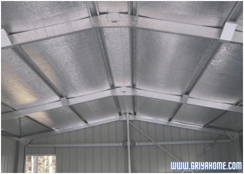 Aluminium Foil  Atap Rumah