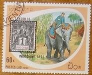 timbre Laos 014