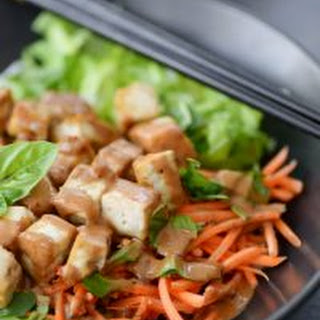 Vietnamese Spring Roll Salad with Crispy Tofu Recipe