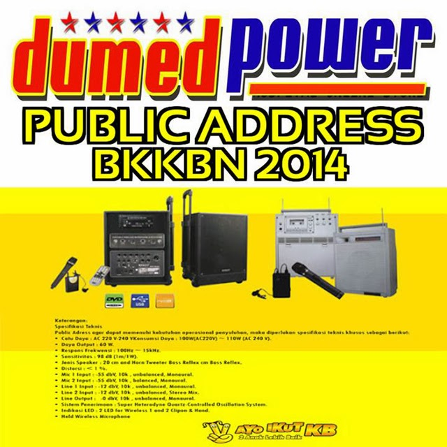 public address bkkbn+ 2014