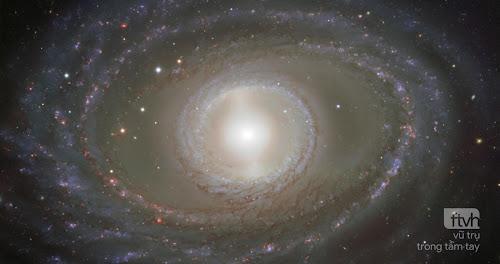 Những dải ruy băng và ngọc quý trong Thiên hà xoắn ốc NGC 1398