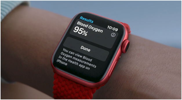 Apple unveiled new blood oxygen measuring watch