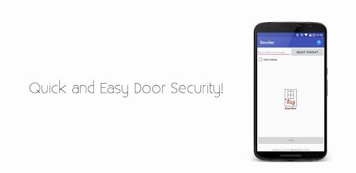 DoorSec Quick Door Security Applications pour Android screenshot