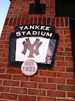 Tributes to older stadiums scattered around the Ted. Go Yankees!
