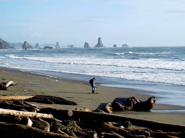Third Beach. Olympic National Park. Lassoing the Sun: A Year in America's National Parks