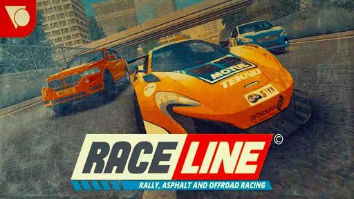 Raceline APK MOD DINHEIRO INFINITO