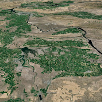 Quincy Basin (GoogleEarth views)