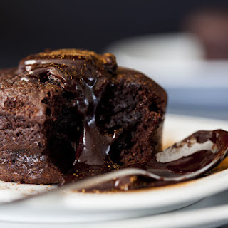 Triple Chocolate Lava Mug Cake