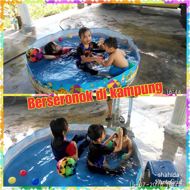 Berenang Bersama Sepupu