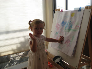 Photo: Young artist at work