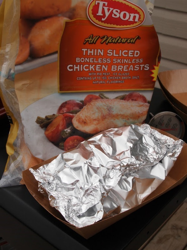 foil dinner with Tyson Chicken