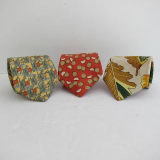 Hermès Autumnal Silk Tie Trio