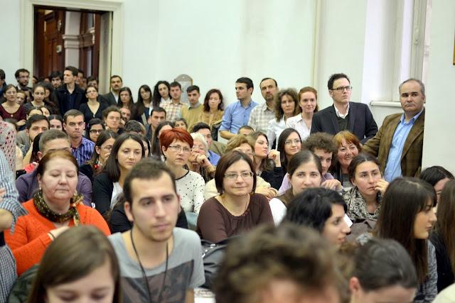 Conferinta Despre martiri cu Dan Puric, FTOUB 021
