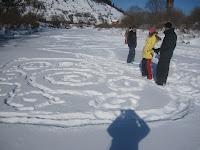 Фоторепортаж с тренинга по ньяса-йоге 12-18 февраля 2012г в Карпатах.762