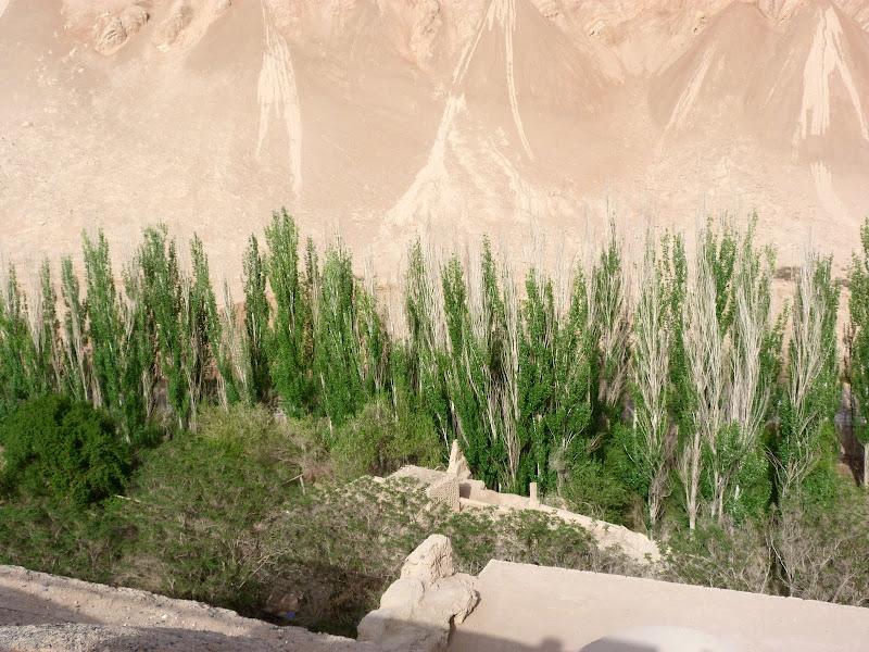 XINJIANG.  Turpan. Ancient city of Jiaohe, Flaming Mountains, Karez, Bezelik Thousand Budda caves - P1270987.JPG
