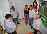 Este jueves 25 de diciembre, a la una de la mañana,  el intendente municipal Gustavo Arrieta y la Jefa de Gabinete Marisa Fassi; supervisaron desde Centro de Operaciones Municipal la puesta en marcha del operativo especial de  seguridad para la Navidad.