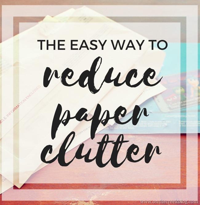 paper clutter blog