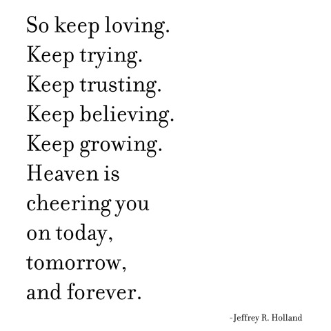 keep loving -- holland