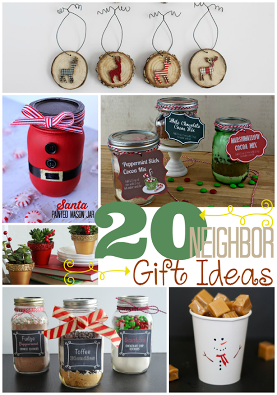 20 Neighbor Gift Ideas at GingerSnapCrafts.com #linkparty #features[7]
