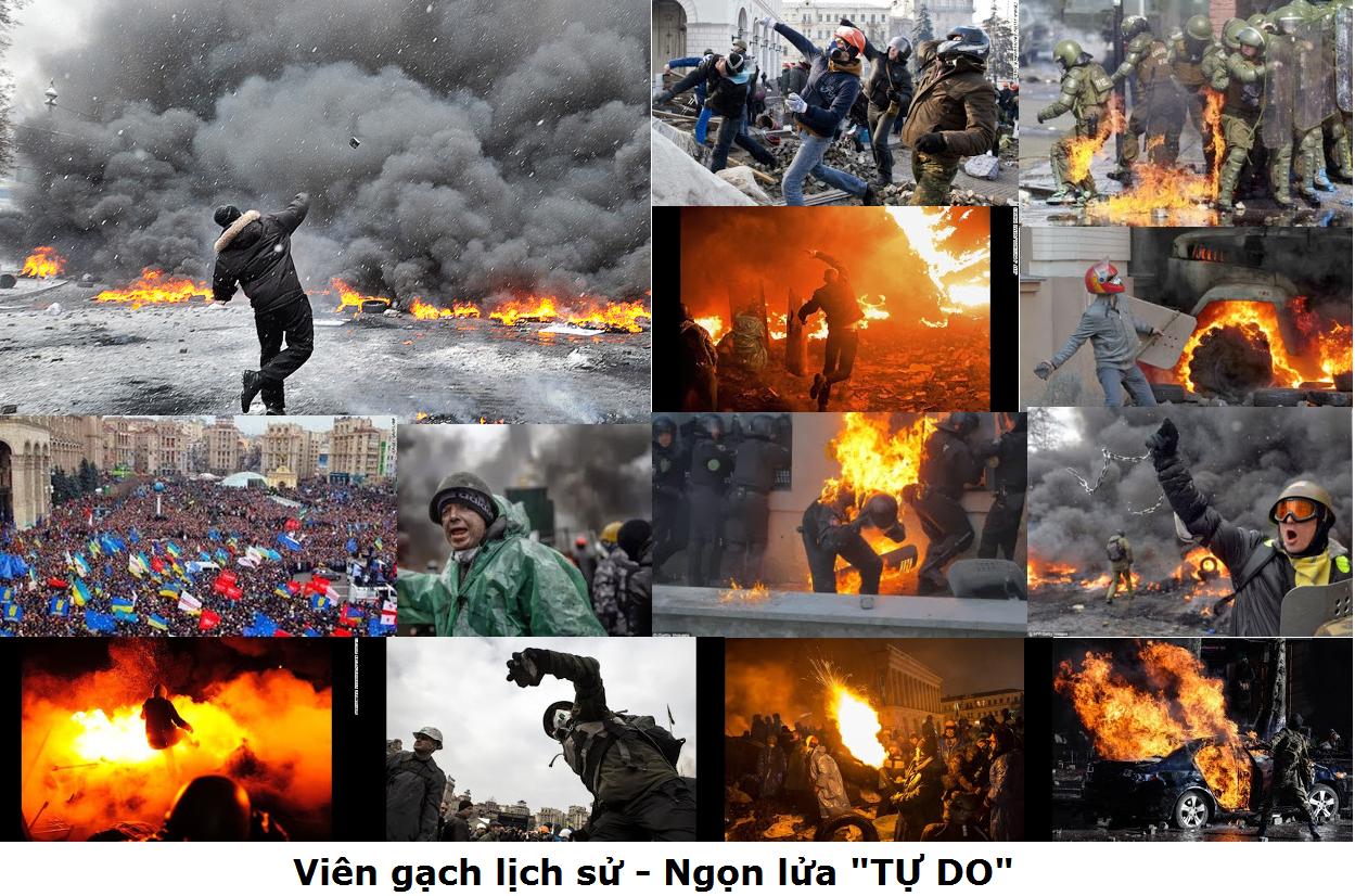 CÁCH MẠNG UKRAINE 2/18/2014
