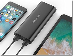 RAVPower 16700 mAh portable charger